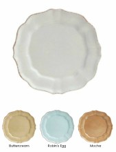 Casafina Impressions Salad Plate in Buttercream