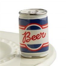 Nora Fleming Beer Can Mini