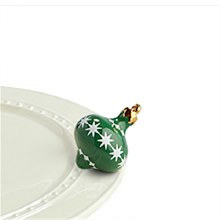 Nora Fleming Green Ornament Mini