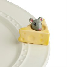 Nora Fleming Mouse and Cheese Mini