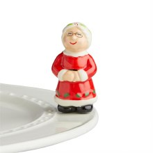 Nora Fleming Mrs. Claus Mini