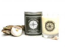 Caribbean Driftwood 14 oz. Glass Candle