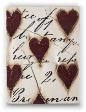Sid Dickens T01 Red Hearts with Script Memory Block