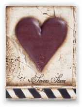 Sid Dickens T175 Seven of Hearts Memory Block