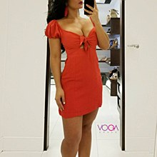 Marie dress L Red