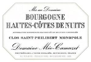 Dom Meo-Camuzet Bour/HCN Phi15