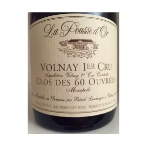 Dom Pousse Volnay 60 Ouvrees12