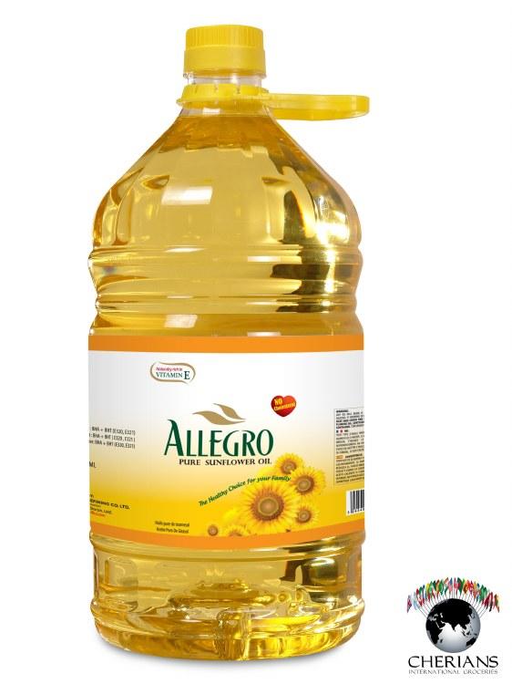 ALLEGRO SUNFLOWER OIL 5L
