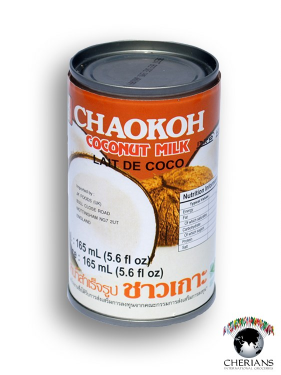 CHAO KOH COCONUT MILK 165ML