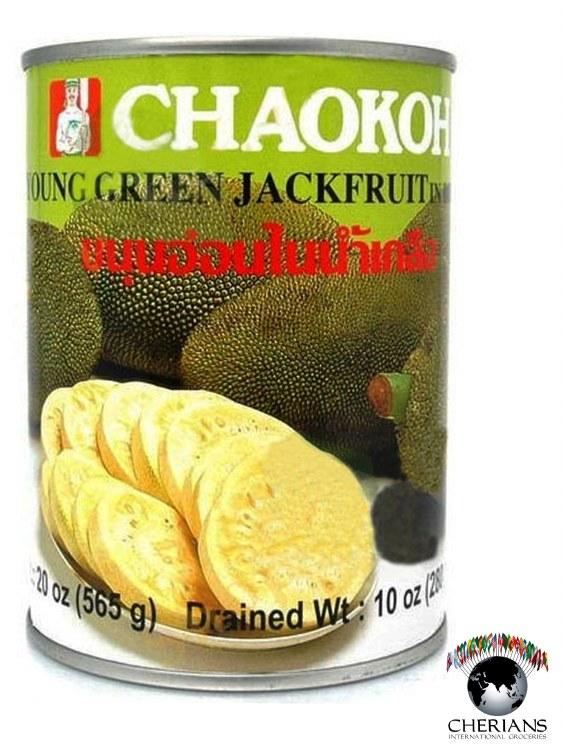 CHAOKOH YOUNG GREEN JACKFRUIT 565G
