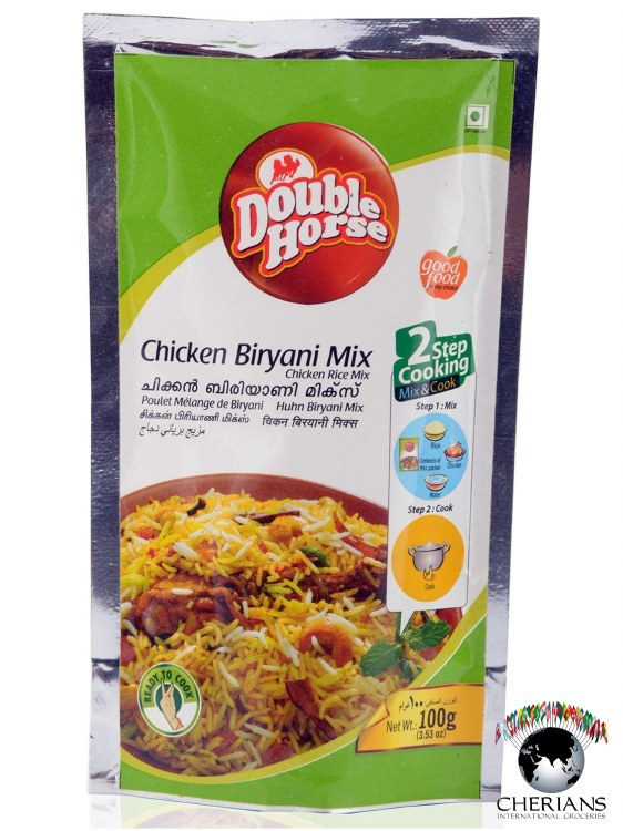 DOUBLE HORSE CHICKEN BIRYANI MIX 100G