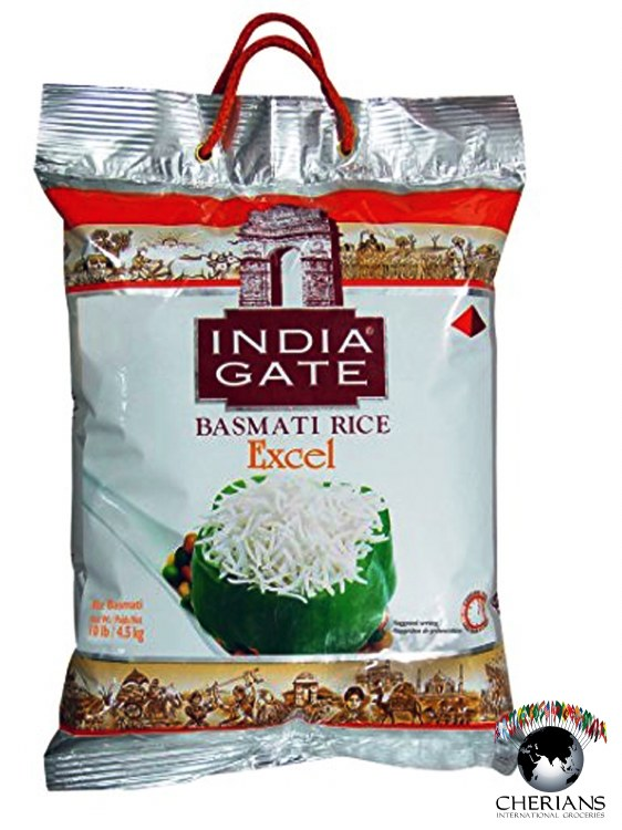 INDIA GATE EXCEL BASMATI RICE 10LB
