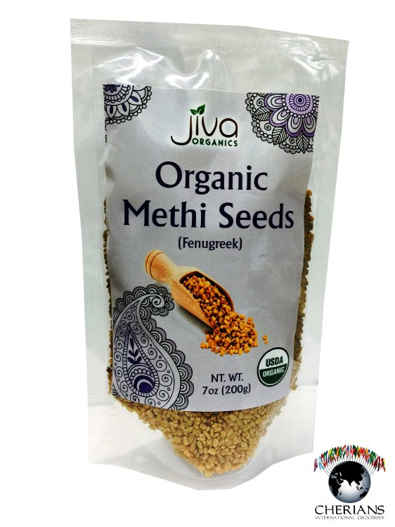 JIVA ORGANIC METHI SEEDS 7 OZ