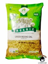 24 MANTRA ORGANIC GREEN MOONG DAL SPIT 4LB