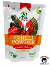 24 MANTRA ORGANIC CHILLI POWDER 3.5 OZ