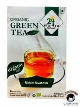 24 MANTRA ORGANIC GREEN TEA 3.5 OZ