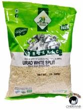 24 MANTRA ORGANIC URAD WHITE SPLIT 2LB