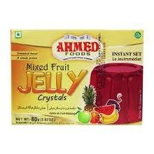 AHMED MIXED FRUIT JELLY CRYSTALS 80G