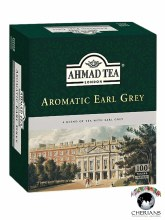 AHMAD TEA LONDON AROMATIC EARL GREY 100 TEA BAGS/ 200G