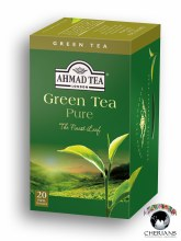AHMAD TEA LONDON GREEN TEA PURE 20 TEA BAGS/ 40G