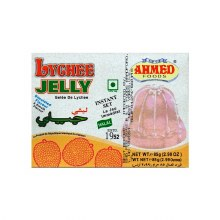 AHMED LYCHEE JELLY CRYSTALS 85GM
