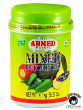 AHMED FOODS- MIXED PICKLE IN OIL 1KG