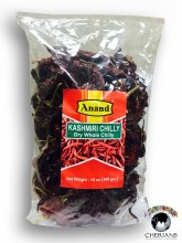 ANAND KASHMIRI CHILLY DRY WHOLE 400G