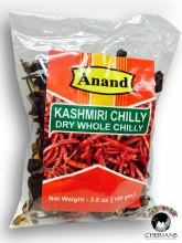 ANAND KASHMIRI CHILLY DRY WHOLE 100G