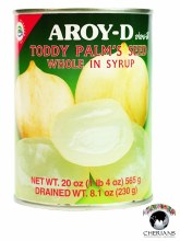 AROY-D TODDY PALM'S SEED SLICES IN SYRUP 20 OZ