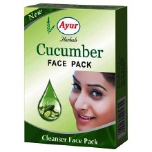 AYUR HERBALS CUCUMBER FACE PACK 100G