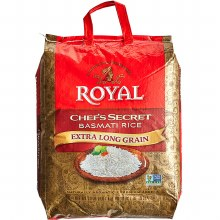 ROYAL CHEF'S SECRET BASMATI RICE 20LB