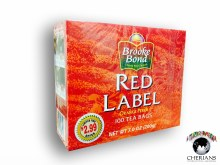 BROOKE BOND RED LABEL TEA 100TB / 200G