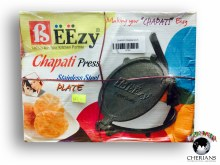 BEEZY CHAPATI PRESS STAINLESS STEEL PLATE
