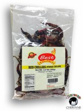 BEST QUALITY RED CHILLIES 100G