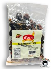 BEST QUALITY SAMBAR CHILLIES 100G