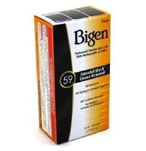 BIGEN PERMANENT POWDER HAIR COLOR-ORIENTAL BLACK 59