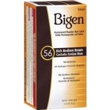 BIGEN PERMANENT POWDER HAIR COLOR-RICH MEDIUM BROWN-56
