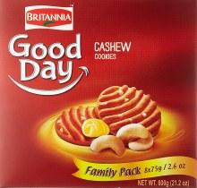 BRITANNIA CASHEW COOKIES 600G