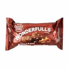 BRITANNIA WONDERFULLS CHOCO & NUTS COOKIES 75G
