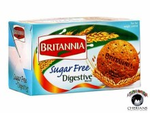 BRITANNIA DIGESTIVE SUGAR FREE BISCUIT 200G