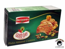 BRITANNIA GOOD DAY PISTA-ALMOND COOKIES 231G
