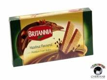BRITANNIA HAZELNUT FLAVOURED PREMIUM CREAM WAFERS 80G