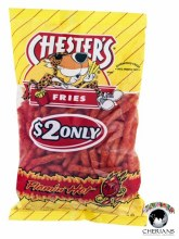 CHESTERS FRIES FLAMIN HOT 155.9G
