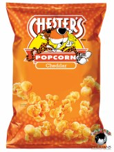 CHESTERS POPCORN CHEDDAR 74.4G