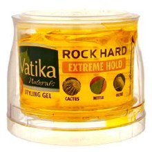 DABUR VATIKA ROCK HARD-EXTREME HOLD-HAIR STYLING GEL 250ML