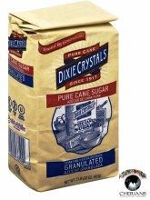 DIXIE PURE CANE SUGAR 2LB