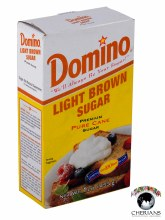 DOMINO LIGHT BROWN SUGAR 1LB