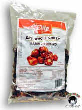 ELITE DRY WHOLE CHILLY RAMNAD ROUND 400G