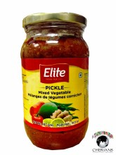 ELITE MIXED VEGETABLE PICKLE 400G