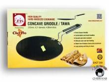 "ERIS CONCAVE GRIDDLE/TAWA 8.5"""